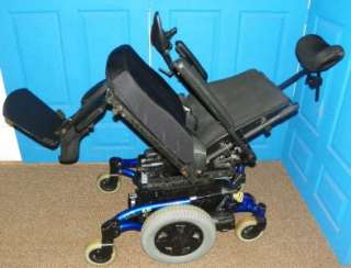 Invacare TDX SP Electric Wheelchair Recline Back