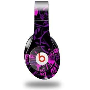 Garden Purple and Hot Pink Decal Style Skin (fits genuine Beats Studio