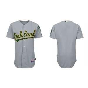 Wholesale Oakland Athletics Blank Grey Baseball Jerseys for Men 2011