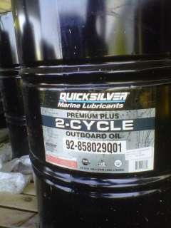 Mercury Quicksilver Premium Plus Oil 55 Gallon drum