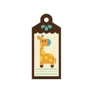 We R Memory Keepers   Embossed Tags   Giraffe Arts