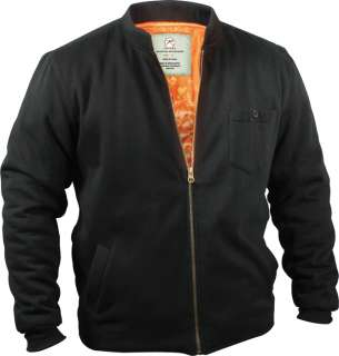Black Military Style Spring Fall FLYERS FLEECE JACKET