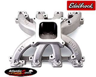 Edelbrock VICTOR JR GM LS1 LS2 CARBURETED CARBURETOR INTAKE MANIFOLD