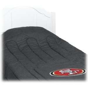 NFL Football San Francisco 49ers   Bedding Comforter