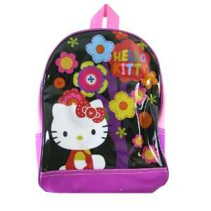 Backpack   Sanrio Hello Kitty Kids Backpack (Flowers) Toys & Games