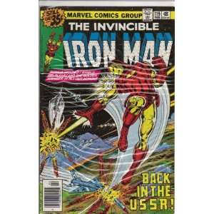 Iron Man #119 Comic Book