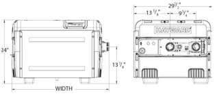 NEW HAYWARD H350FDP 350 K BTU Propane Heater Pool/Spa