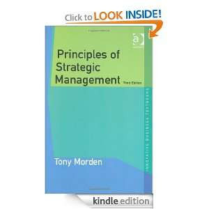 Principles of Strategic Management (Innovative Business Textbooks