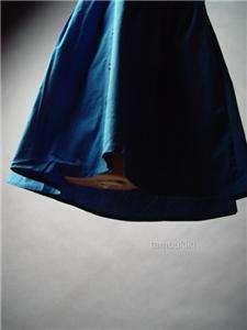 TUXEDO Ruffle Ruffled Bib Front Halter Shirt Dress S