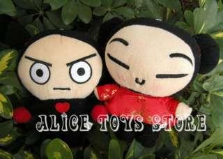 PUCCA & GARU Korea Anime Prefect Wedding Party Soft Plush Toy Doll