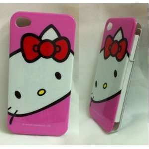 Hello Kitty Big Face Iphone 4 Case Cell Phones