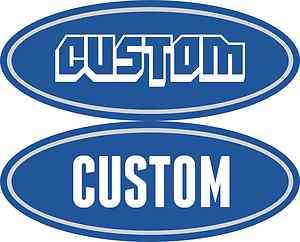 Custom 04 11 Ford Peterbilt Decals Emblems f250 f350