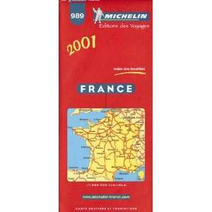 Michelin 2001 France (Road Maps) (9782060001685) Pneu Michelin
