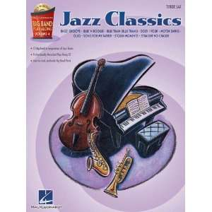 Jazz Classics   Tenor Sax   Big Band Play Along Volume 4
