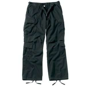 BDU Pants 8 Pocket Black Paratrooper Fatigues Small Everything Else