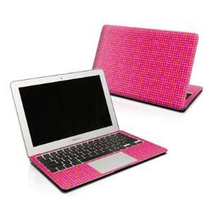 Dots Pink Design Protector Skin Decal Sticker for Apple MacBook Pro 17