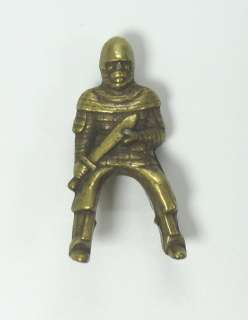 OLD KINDER FERRERO EGG METAL VIKING FIGURE
