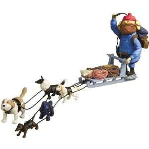 Rudolph and the Island of Misfit Toys Yukons Sled and Dog