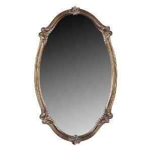 Quoizel Lombard 35 Inch Large Mirror, Corinthian Bronze