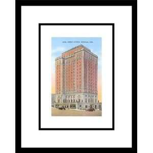 Hotel Andrew Johnson, Knoxville, Tennessee, Framed Print