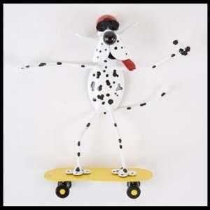 Skateboard Dog Magnet Spoonies by Richard Kolb