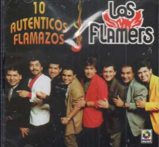 LOS FLAMERS 10 AUTENTICOS FLAMAZOS CD