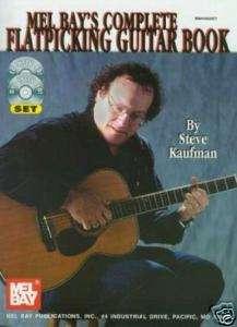 COMPLETE FLATPICKING GUITAR BOOK+DVD+CD STEVE KAUFMAN