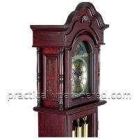NEW Edward Meyer Chiming Grandfather Clock, Beveled Glass, 31 day