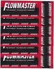 50 Flowmaster 5 inch racing decals stickers IHRA D166B