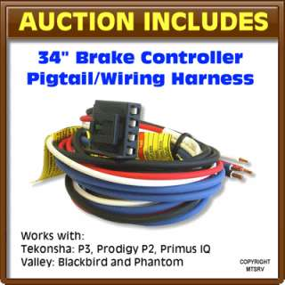 Brake Control Wiring Harness PrImus P2 P3   34 Generic