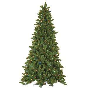 9 Lawrence Spruce Christmas Tree with Multi Colored LED