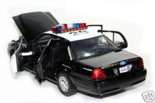 Ford Victoria California Highway Patrol CHP 1/18 New
