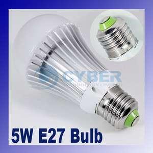 E27 Warm White Energy 5W LED Bulb Light Lamp 85V   265V