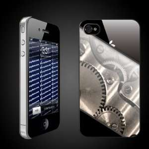 Fun iPhone Hard Case Designs   The Gears Inside CLEAR