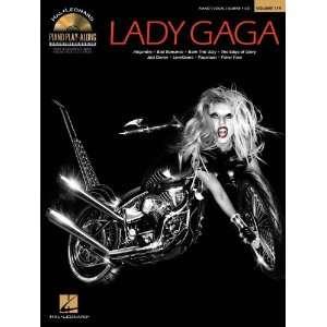Hal Leonard Lady Gaga   Piano Play Along Volume 119 Book