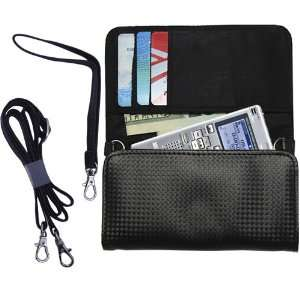 Black Purse Hand Bag Case for the Olympus WS 500M with