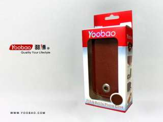 YOOBAO Genuine Leather Case Cover Skin For Nokia N8/ ONLY Brown