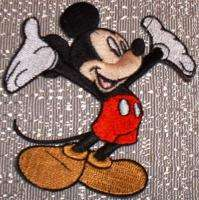 DISNEY MICKEY MOUSE Character Embroidered PATCH