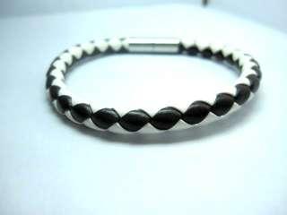 z503 metal magnet buckle leather bracelet man/woman |