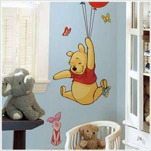 Pooh & Piglet Giant Wall Stickers Decals