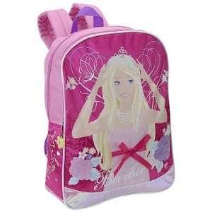 Barbie Girls School Full size 16 backpack   School Bag: Toys & Games