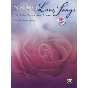 Poetic Love Songs (Book & CD) (9780739064740) Penny Rodriguez Books