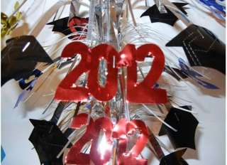 GRADUATION Class 2012 Party Cap Table Centerpiece Decoration Foil