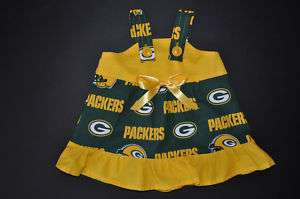 NFL Green Bay Packers Baby Infant Dress*YOU PICK SIZE