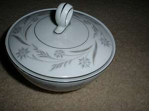 Narumi Japan Livonia Mikasa Fine China Sugar Bowl with Lid 5319