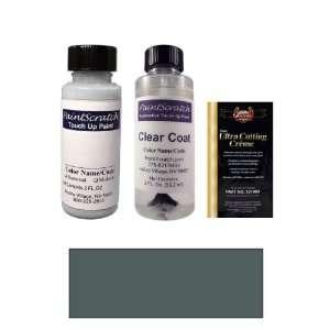 Oz. Greenish Gray Metallic Paint Bottle Kit for 2002 Nissan Almera