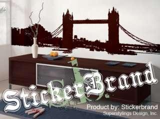 Vinyl Wall Decal Sticker London Bridge LARGE 10ft wide
