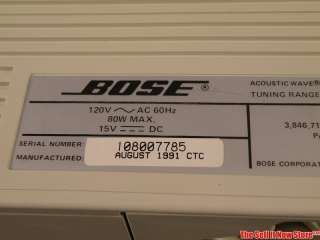 Bose Acoustic Wave Music System Series II CD 200 Home Stereo System