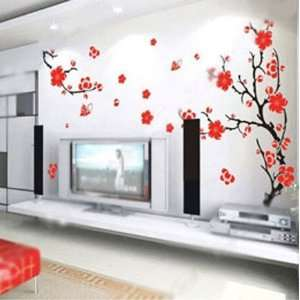 Big Flower Nature Wall Paper Decal Art Sticker Mural art