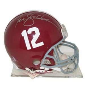 Ken Stabler Alabama Crimson Tide Autographed Full Size Helmet